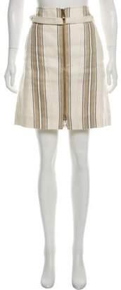 Belstaff A-Line Denim Skirt