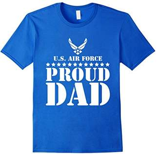 Mens Pride Military Father - Proud Dad U.S. Air Force T-shirt