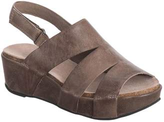 Antelope Women's 431 Leather Three Banded Wedge 38