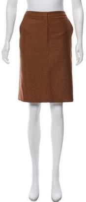 Max Mara Metallic Knee-Length Skirt
