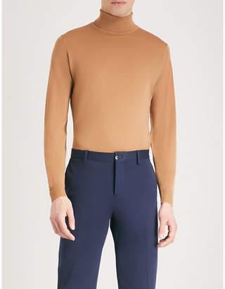 John Smedley Cherwell wool turtleneck jumper