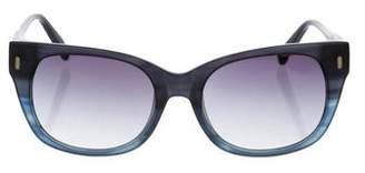 Jason Wu Navy Square Sunglasses