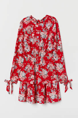 H&M Tiered Dress - Red