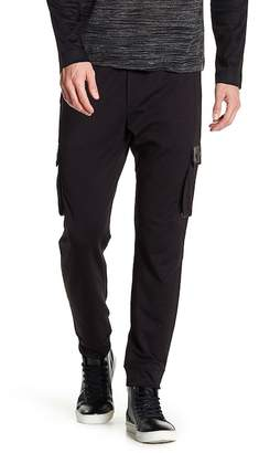 Quinn Ross Genuine Leather Trim Cargo Pant