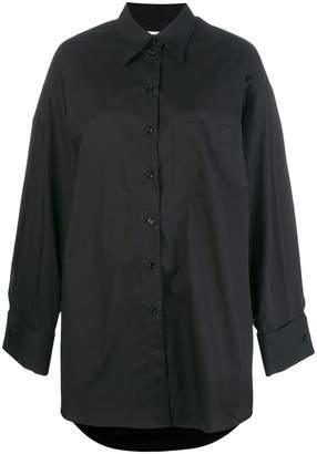 MM6 MAISON MARGIELA oversized long-sleeve shirt