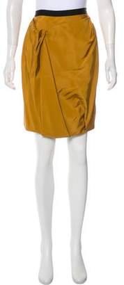 Jason Wu Silk Pleated Skirt