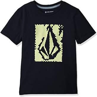 Volcom (ヴォルコム) - (ボルコム) VOLCOM(ボルコム) [ キッズ ] 半袖 プリント Tシャツ (ロゴプリント) [ Y3511803 / Pixel Stone S/S Tee Little Youth ] 子供服 かわいい Y3511803 BLK BLK_ブラック 6