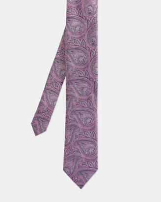 Ted Baker CURSE Paisley print silk tie