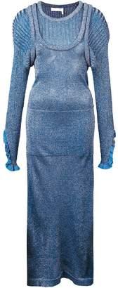 Chloé layered-effect dress