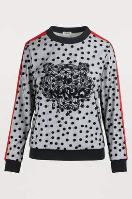 Kenzo Tiger polkadot sweatshirt