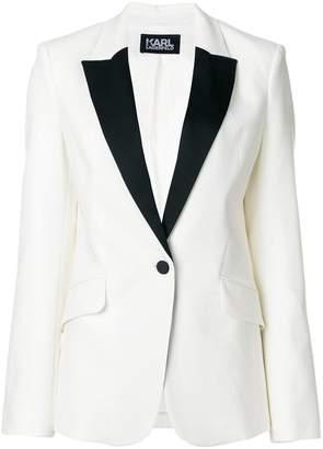 Karl Lagerfeld Summer Tuxedo Blazer