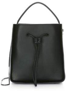 3.1 Phillip Lim Soleil Small Leather Drawstring Bucket Bag
