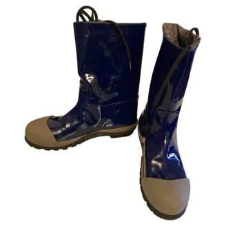 Miu Miu Patent leather wellington boots