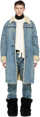 Sacai Blue Denim Coat