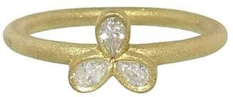 Tate Triple Pear Diamond Ring