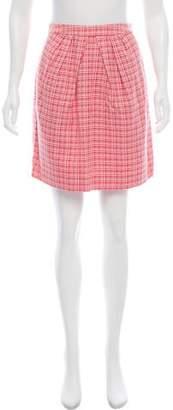 Peter Som Checked Mini Skirt