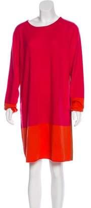 Magaschoni Cashmere Knit Sweater Dress