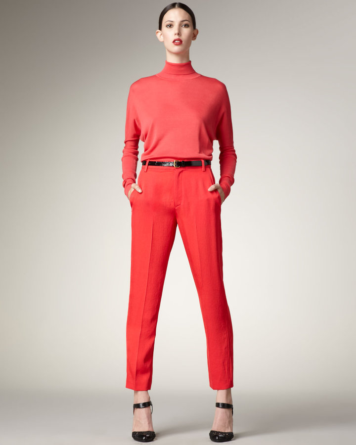 MARC by Marc Jacobs Cropped Twill Pants