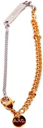 A.P.C. Elegant Double Chain Bracelet
