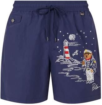 6155dea867722 Polo Ralph Lauren Bear Swim Shorts