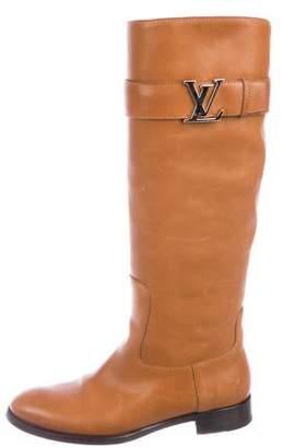 66b388086136 Louis Vuitton Brown Women s Boots - ShopStyle