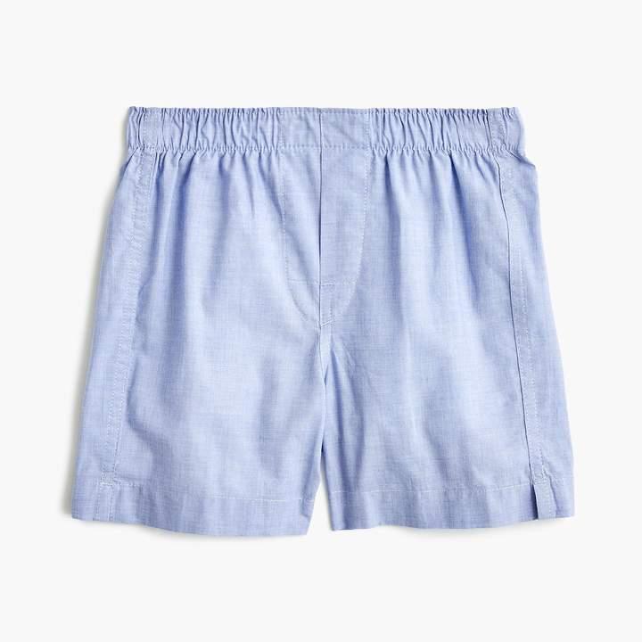 Boys' J. Crew Mercantile boxers in end-on-end cotton : Boy underwear | J.Crew