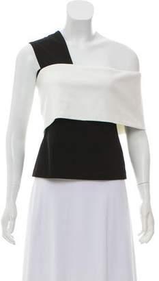 Rosetta Getty Knit One-Shoulder Top w/ Tags