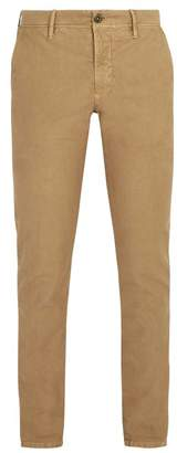 Incotex Slim Leg Chino Trousers - Mens - Beige