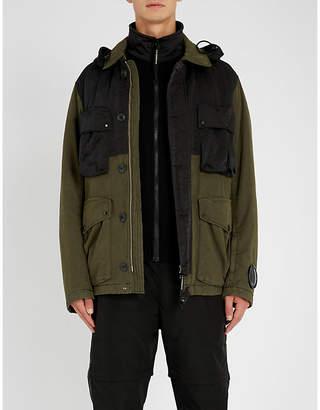 C.P. Company Shell and cotton-canvas jacket