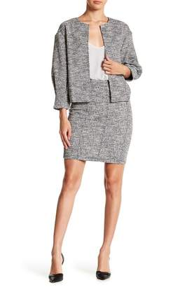 14th & Union Tweed Knee Length Skirt