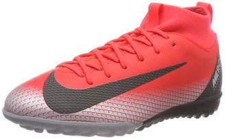 Nike Youth Soccer Jr. SuperflyX Academy CR7 Turf Shoes ( Big Kid)
