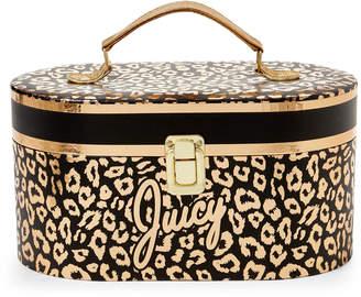 Juicy Couture Leopard Print Storage Box
