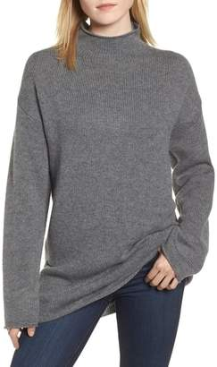 AG Jeans Amity Oversize Wool & Cashmere Sweater