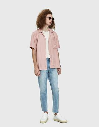 Gitman Brothers Rayon Camp Shirt in Pink