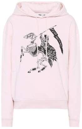 McQ Fear Nothing cotton hoodie