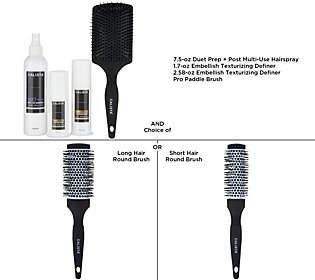 Calista Style & Volume Embellish and Duet SprayKit w/ Brushes