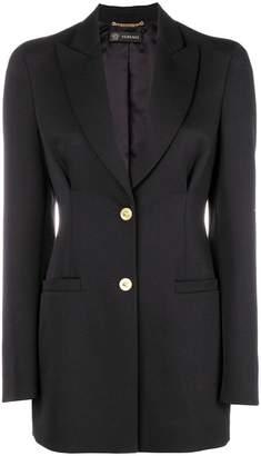 Versace shoulder pad blazer