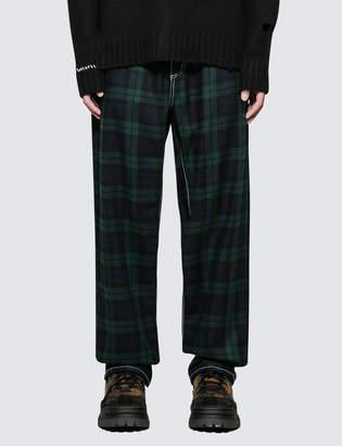 Eytys Benz Tartan Jeans