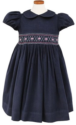 Girl's Sorbet Embroidered Smocked Waist Dress $95 thestylecure.com