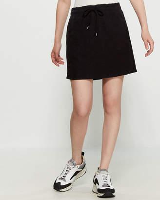 Andrew Marc Slub Lounge Skirt
