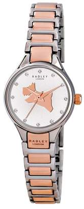 Radley Ladies Watch With Stainless Steel Case And Two-Tone Bracelet Ry4214