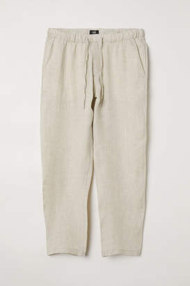 H&M Wide-leg Pants - White
