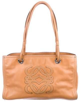 Loewe Logo Appliqué Shoulder Bag