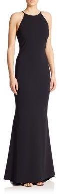 Badgley Mischka Odessa Halter Gown $660 thestylecure.com