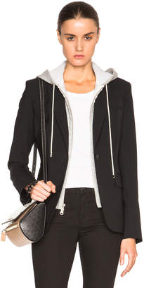 Veronica Beard Classic Blazer with Hoodie Dickey