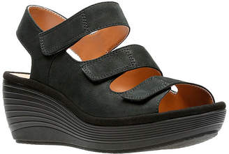 Clarks Reedly Juno Womens Wedge Sandals