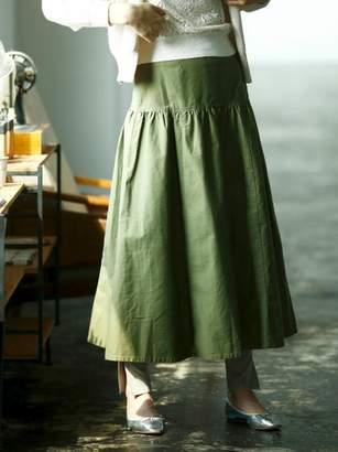 Le.coeur Blanc (ル クール ブラン) - ルクールブラン モールスキンティアードロングスカート