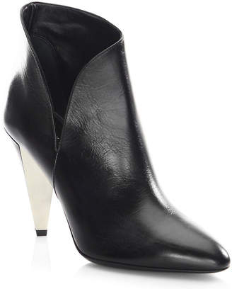 Michael Kors Angelina Leather Point Toe Booties