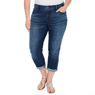 A.N.A Rolled Skinny Ankle Jeans - Plus