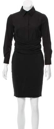 Givenchy Button-Up Sheath Dress